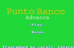 Thumbnail 1 for Punto Banco Advance